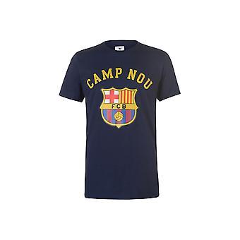 Source Lab Barcelona Crest T-Shirt Mens