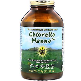 HealthForce Superfoods, Chlorella Manna, 12.34 oz (350 g)