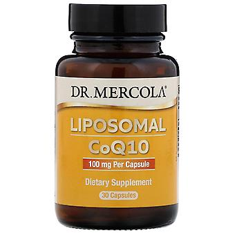Dr. Mercola, Liposomal CoQ10, 100 mg, 30 Kapslar