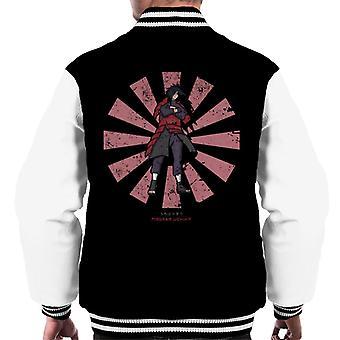 Madara Uchiha Retro Japanska Naruto Men's Varsity Jacket