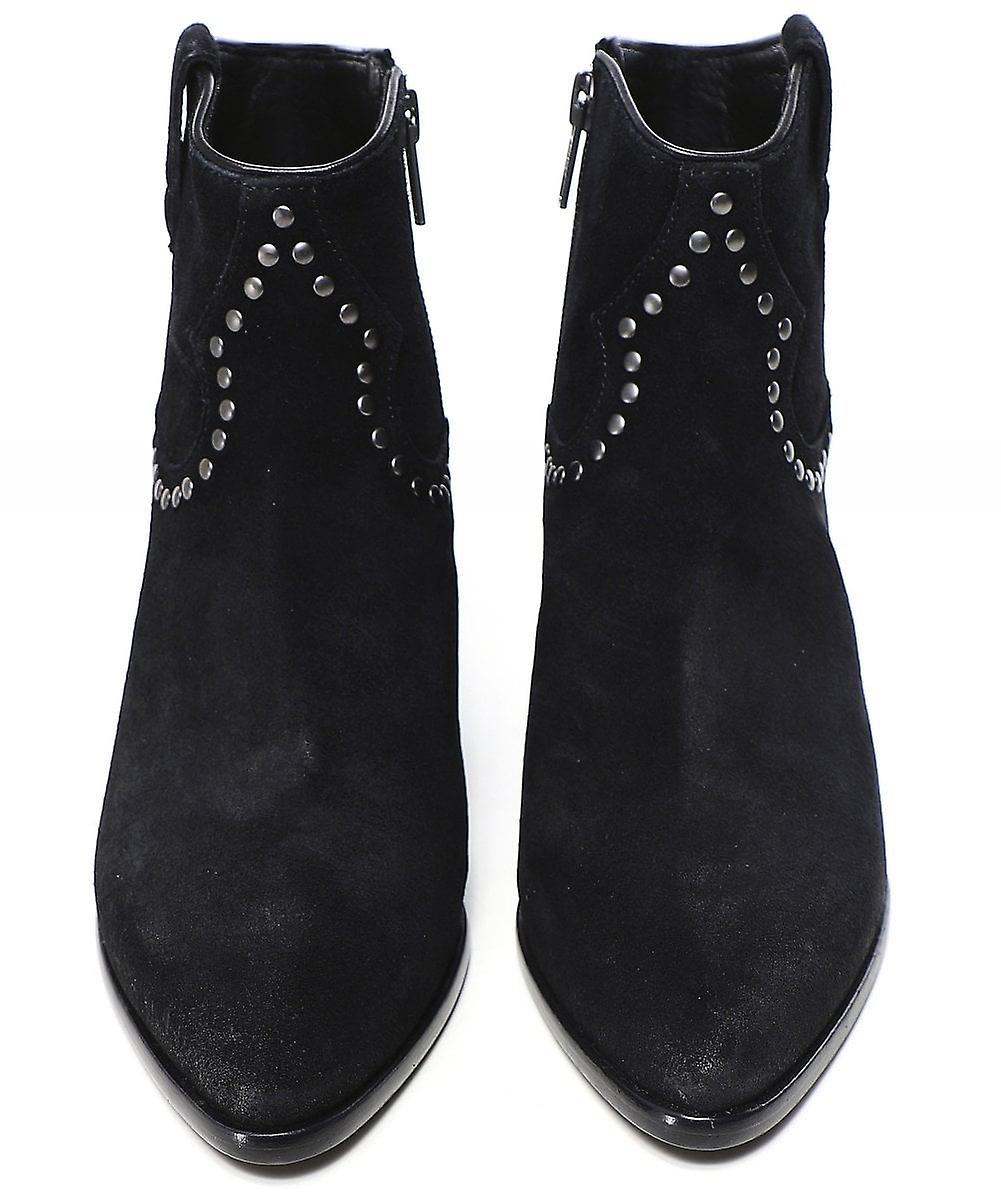 Ash Houston Bis Suede Ankle Boots