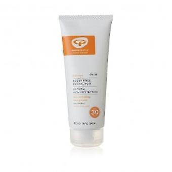 Green People -  Sun Lotion SPF30 Scent Free 200 ML