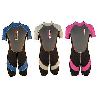 "Nalu Wavewear Childrens Shortie 20"" Chest Age 1-2 Wetsuit Assorted Designs"