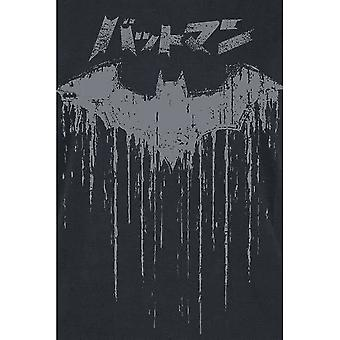 Batman Womens/Ladies Japanese Logo T-Shirt