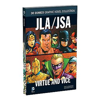JLA/JSA: Virtue and Vice - Comic Book Eng Hardback Book