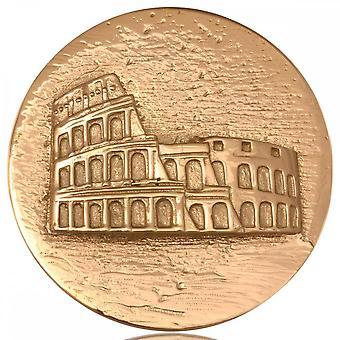 Nikki Lissoni Roma Coliseusseum Grande Ouro Banhado Moeda C1146GL