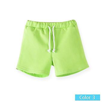 מכנסיים קצרים בצבע ממתק, קיץ חם- מכנסי חוף ומכנסיים