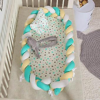 Portable Removable And Washable Newborn Baby Crib Bed- Bionic Children Bed