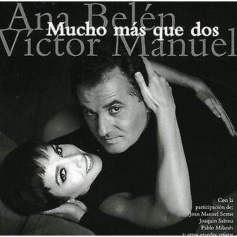 Belen/Manuel - Mucho Mas Que Dos [CD] USA import