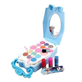 Frozen Disney Kids Makeup, Princess Play Makeup Toys For Girl (elsa)