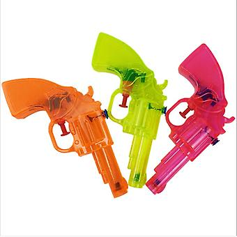 Mini Transparant Squirt Water Gun, Summer Fight Beach Kids Blaster Toy Pistol
