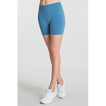 Jerf Womens Aruba Blue Seamless Shorts