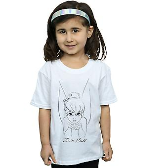 Disney Girls Tinker Bell Sketch T-paita