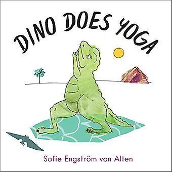 Dino faz yoga
