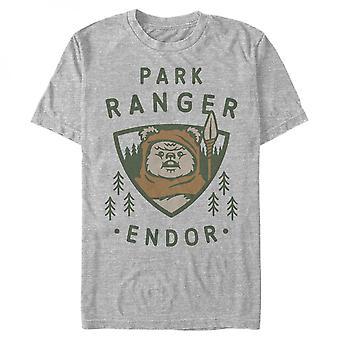 מלחמת הכוכבים איווק אנדור פארק ריינג'ר חולצת טריקו