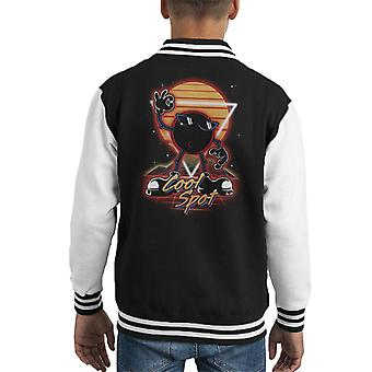 Retro Cool Spot Kid's Varsity Jacket