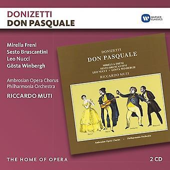 Donizetti / Muti, Riccardo - Don Pasquale [CD] USA import