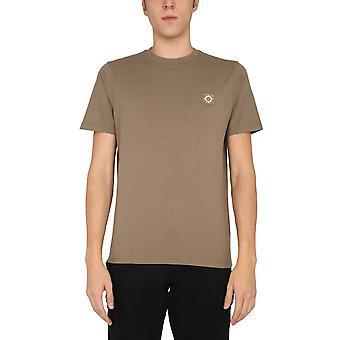 Ma.strum Mas8352m216 Men's Brown Cotton T-shirt