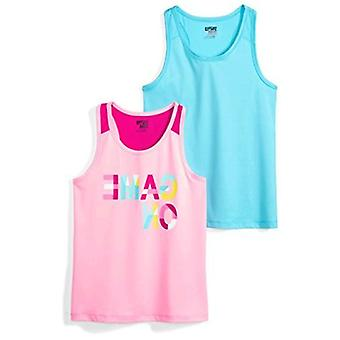Spotted Zebra Big Girls' 2-Pack Active Tank Tops, Game On On, XX-Large (14)