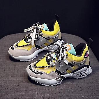 Luxury Causal Chunky Sneakers, Lightweight Thick Bottom Trainer Shoes