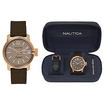 Nautica watch sydney gent's box set napsyd013