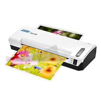 A4 Photo Laminator Hot Cold Laminator Fast Speed Film Laminating Plastificadora