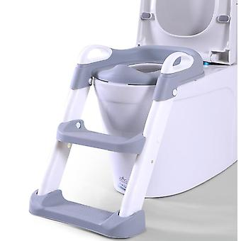 Baby Toilet Seat Kids Toilettes With Adjustable Ladder Child Potty Chair Folding Toilet Trainer Seat Step Children Potty Seat