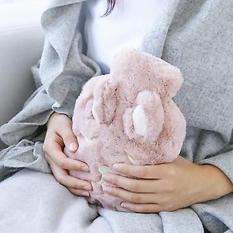 Hot Cute Pvc Stress Pain Relief Therapy Hot Water Bottle Bag With Knitted Cover