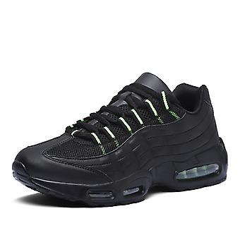 Mujeres Air Cushion Zapatos de Running Deportivo 0580 Negro