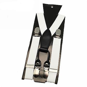 Gentleman Suspender Belt, Wedding Suspenders Adjustable Elastic Shirt Stay