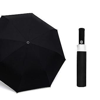Led Valo Taskulamppu Sateenvarjo Sade Naisten Merkki Miehet Suuri Automaattinen Sateenvarjo