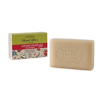 Instant Fruity soap, notes of red fruit, in ORGANIC olive oil 100 g