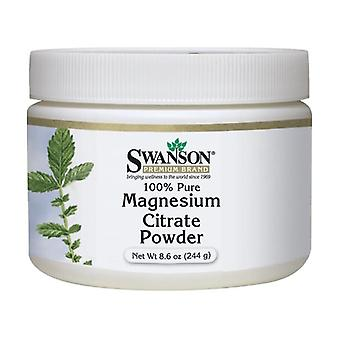 Magnesium Citrate, 100% Pure Powder 244 g