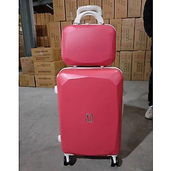 Uusi matkalaukku vs käsilaukku, matkalaukkuvaunu