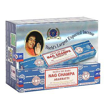 Satya Nag Champa Incense Sticks (Pack of 120)