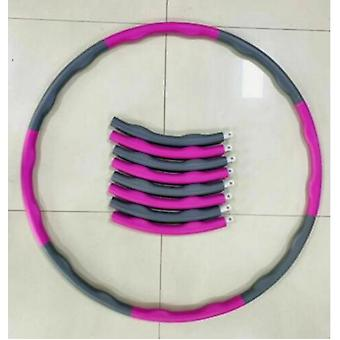 1kg Pinkweighted Hula Hoop, Slim Hoop For Adults And Children For Weight Loss