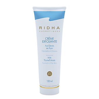 Ridha Exfoliating Cream (normal To Oily) 120ml