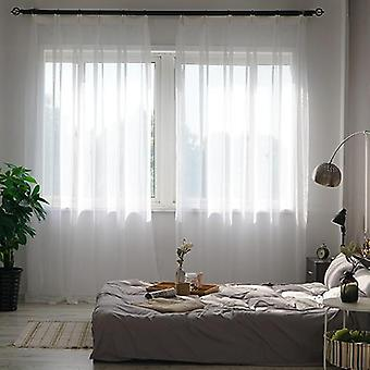 Curtain Window Tulle For Living Room Bedroom Kitchen Finished Window Treatment
