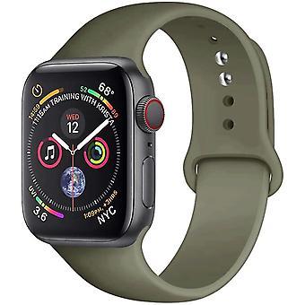 Silicone Strap Rubber Watch Band Sport Bracelet Belt Apple Watch