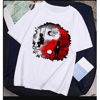 Fashion Japanese Anime Sasuke Cartoon Tshirt