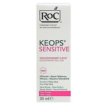 Roc Keops Deodorant Roll On - Sensitive 48 Hour