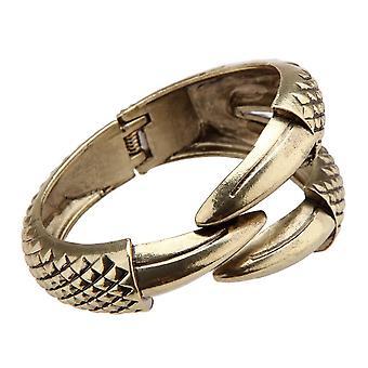 Luxurious vintage style punk bracelet bangle