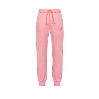 Pinko Carico Pink Cotton Joggers