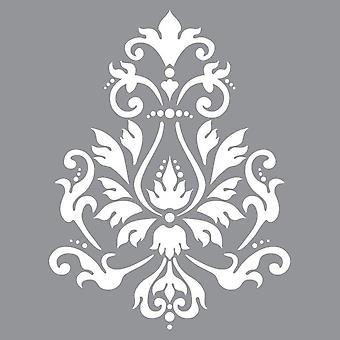 Decoart Stencil - Brocade Motiv