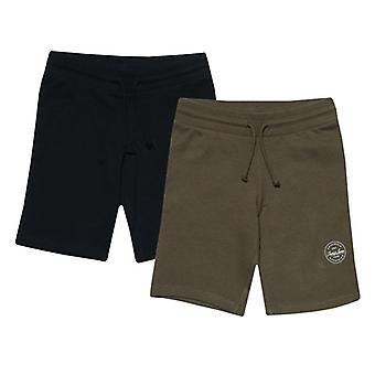 Boy's Jack Jones Junior More 2 Pack Jog Shorts in Blue