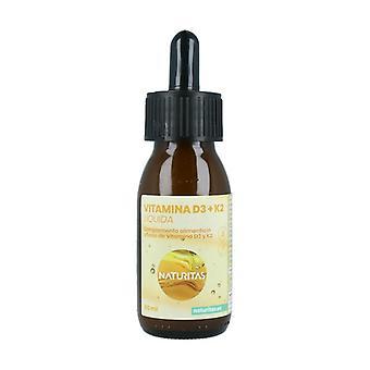 Nestemäinen D3 -vitamiini + K2 60 ml