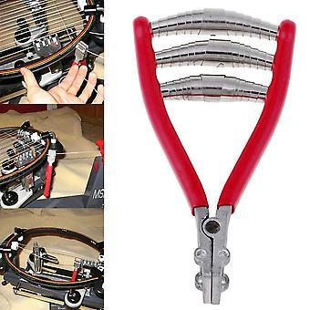Tennis Badminton Racket, Metallfjäder, Klämsträng, Startverktyg