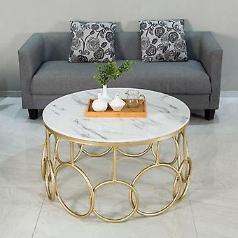 Ylellinen marmorinen sohvapöytä