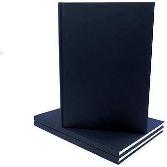 Seawhite All Media Cartridge Paper Casebound Cloth Cover Sketch Book A6 (Portrait)