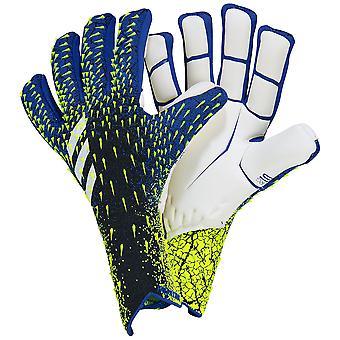 adidas PREDATOR 21 PRO PROMO FINGERSAVE NEGATIVE Goalkeeper Gloves Size